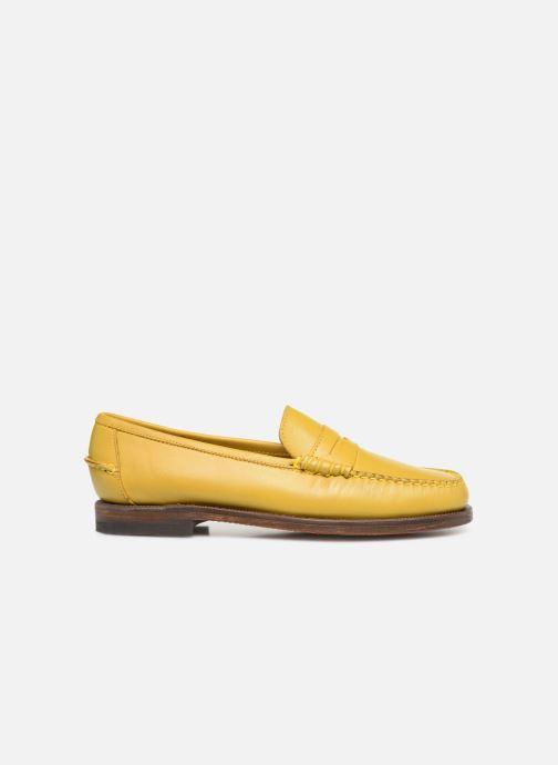 Slipper Sebago Classic Dan Waxy W gelb ansicht von hinten