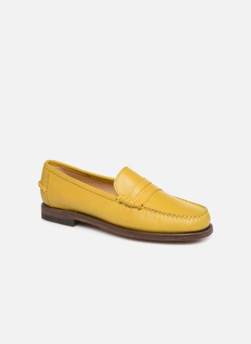 Slipper Sebago Classic Dan Waxy W gelb detaillierte ansicht/modell