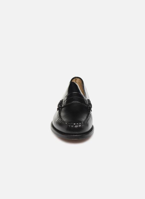 Slipper Sebago Classic Penny schwarz schuhe getragen