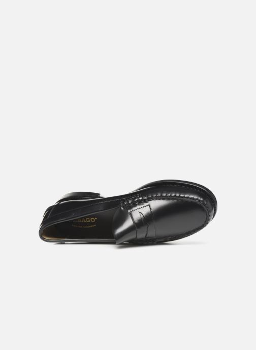 Loafers Sebago Classic Penny Black view from the left