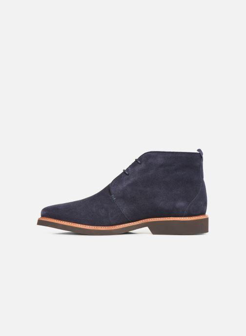 Bottines et boots Sebago Desert Boot Suede Bleu vue face
