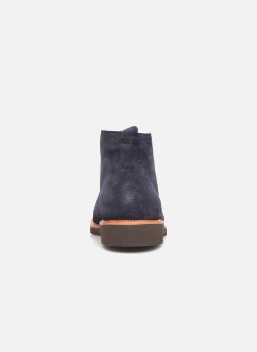 Bottines et boots Sebago Desert Boot Suede Bleu vue droite