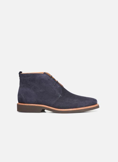 Bottines et boots Sebago Desert Boot Suede Bleu vue derrière