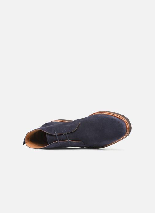 Bottines et boots Sebago Desert Boot Suede Bleu vue gauche