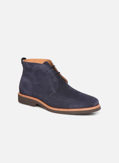 Bottines et boots Sebago Desert Boot Suede Bleu vue détail/paire
