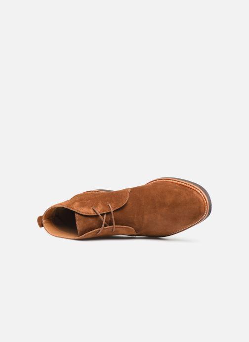 Stiefeletten & Boots Sebago Desert Boot Suede braun ansicht von links