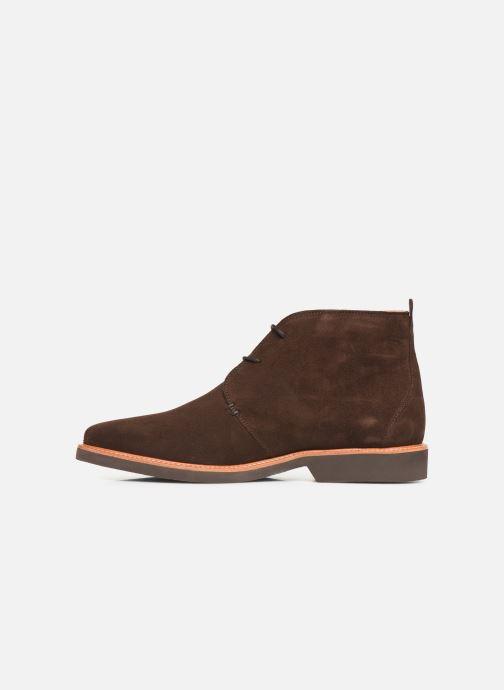 Bottines et boots Sebago Desert Boot Suede Marron vue face