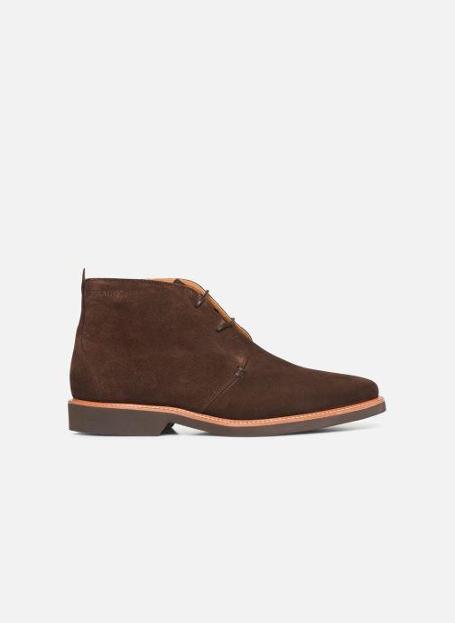 Boots en enkellaarsjes Sebago Desert Boot Suede Bruin achterkant