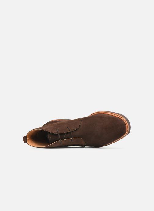 Bottines et boots Sebago Desert Boot Suede Marron vue gauche