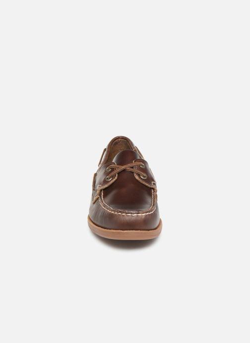 Zapatos con cordones Sebago Endeavor Fgl Marrón vista del modelo