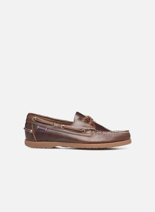 Chaussures à lacets Sebago Endeavor Fgl Marron vue derrière