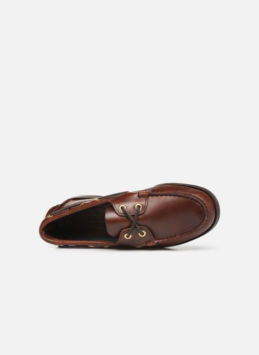 Chaussures à lacets Sebago Endeavor Fgl Marron vue gauche