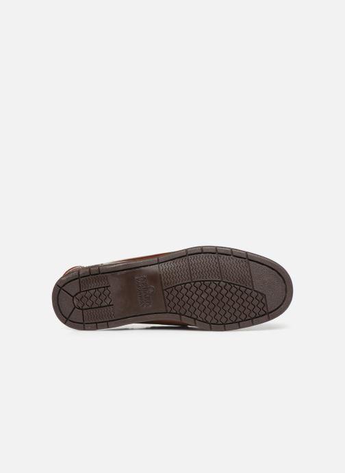 Chaussures à lacets Sebago Endeavor Fgl Marron vue haut
