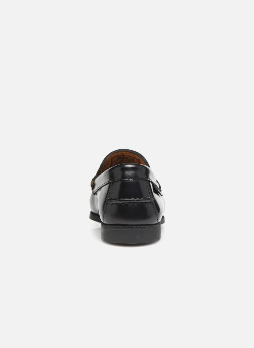 Loafers Sebago Plaza Tassel Black view from the right