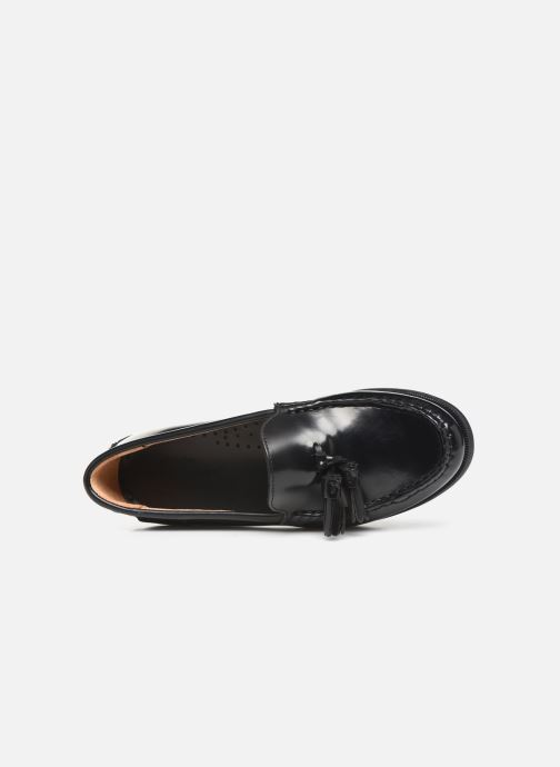 Loafers Sebago Plaza Tassel Black view from the left