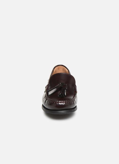 Mocassins Sebago Plaza Tassel Bordeaux vue portées chaussures