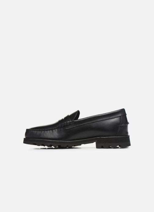 Loafers Sebago Vershire Penny Black front view
