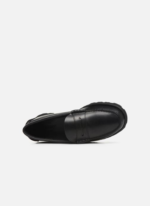 Loafers Sebago Vershire Penny Black view from the left