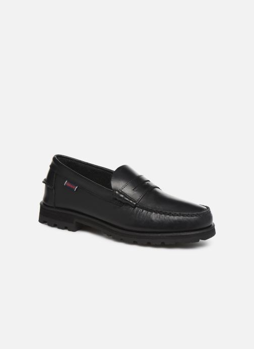 Loafers Sebago Vershire Penny Black detailed view/ Pair view