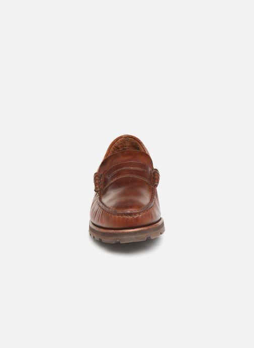 Loafers Sebago Vershire Penny Brown model view