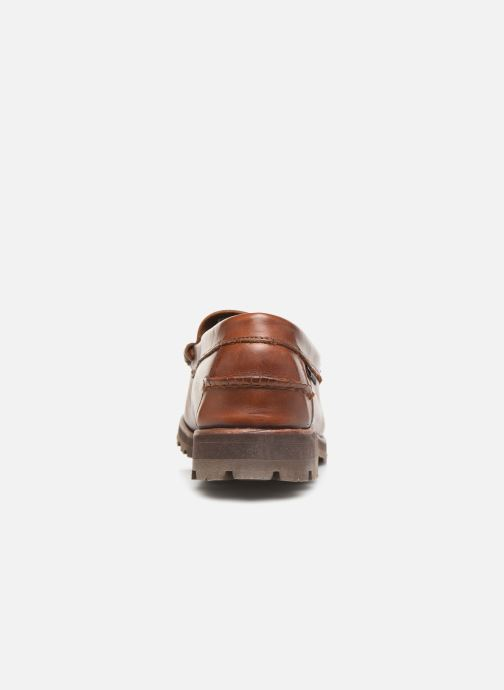 Loafers Sebago Vershire Penny Brown view from the right