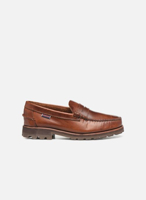 Loafers Sebago Vershire Penny Brown back view