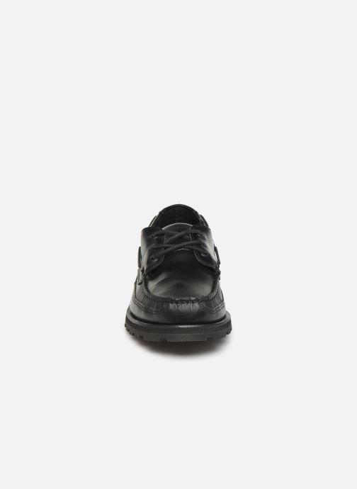 Chaussures à lacets Sebago Vershire Three Eye Fgl Noir vue portées chaussures