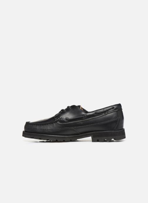 Chaussures à lacets Sebago Vershire Three Eye Fgl Noir vue face