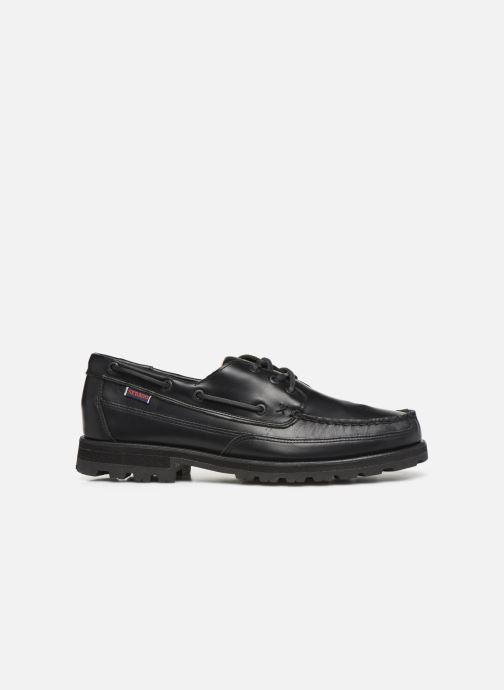 Chaussures à lacets Sebago Vershire Three Eye Fgl Noir vue derrière