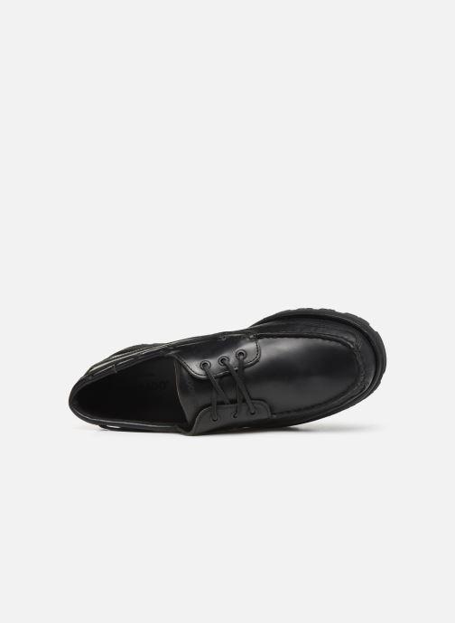 Chaussures à lacets Sebago Vershire Three Eye Fgl Noir vue gauche