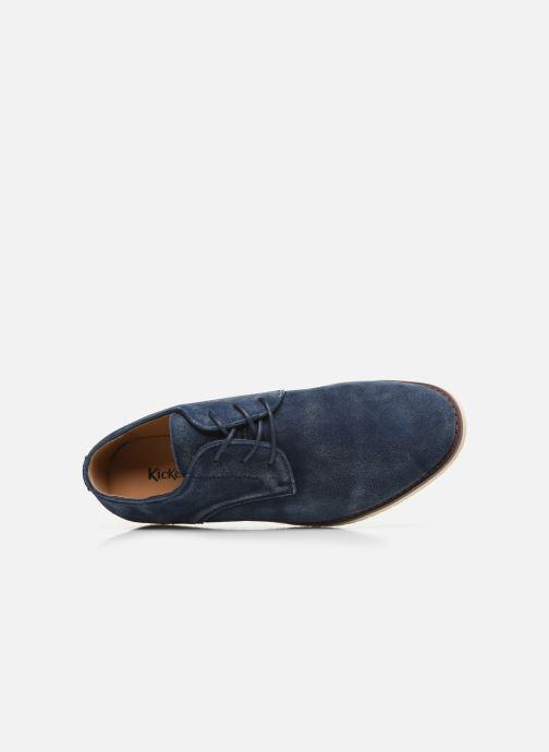 Scarpe con lacci Kickers Tumperys Azzurro immagine sinistra