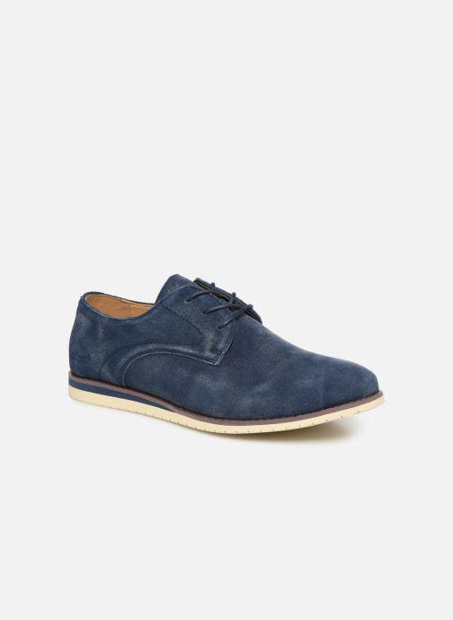 Chaussures à lacets Kickers Tumperys Bleu vue détail/paire