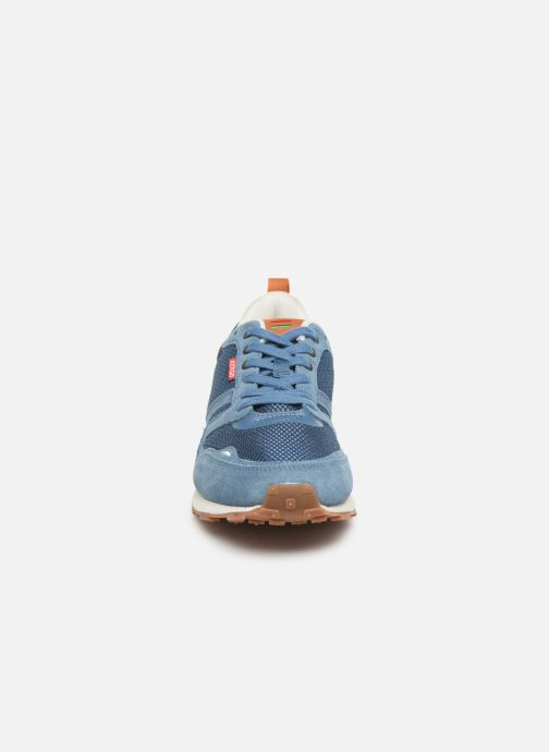 Sneaker Kickers Portland blau schuhe getragen