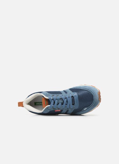 Sneaker Kickers Portland blau ansicht von links
