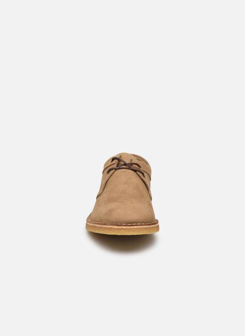 Zapatos con cordones Kickers Cluzo Marrón vista del modelo