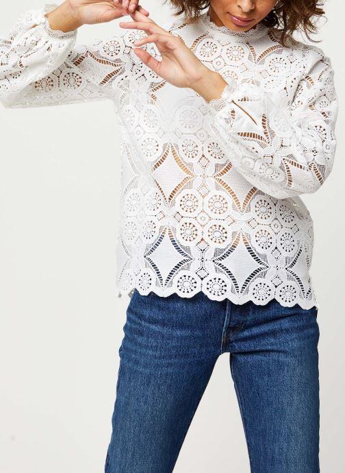 Vêtements Vila VIRASMI NEW TOP Blanc vue détail/paire