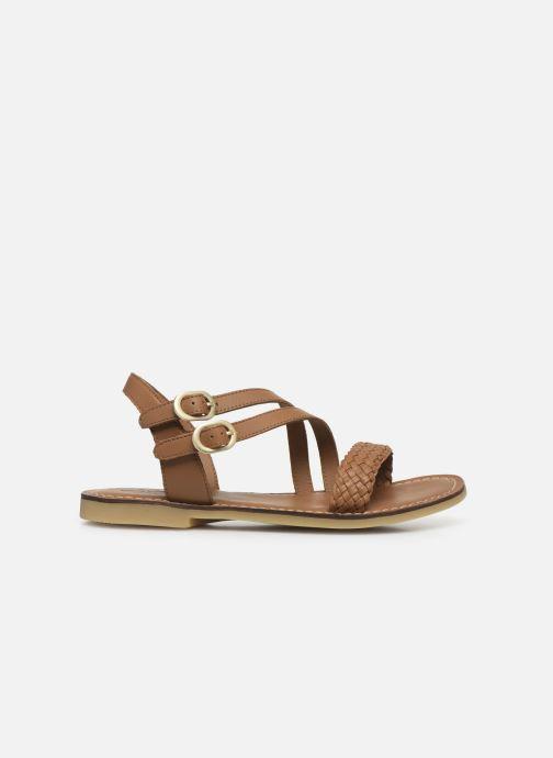Sandales et nu-pieds Adolie Lazar Megh Marron vue derrière