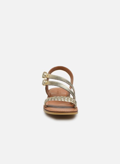 Sandales et nu-pieds Adolie Lazar Megh Argent vue portées chaussures
