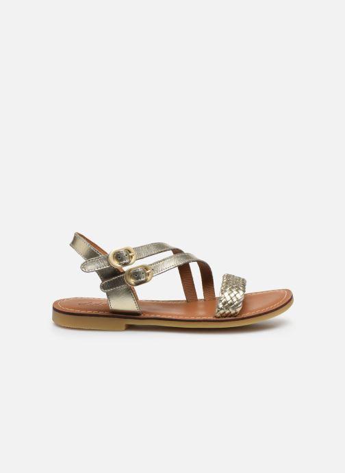 Sandales et nu-pieds Adolie Lazar Megh Argent vue derrière