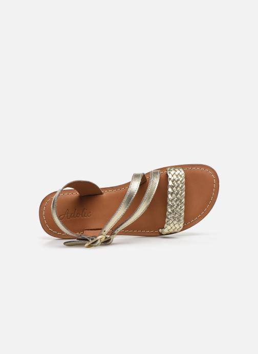 Sandales et nu-pieds Adolie Lazar Megh Argent vue gauche