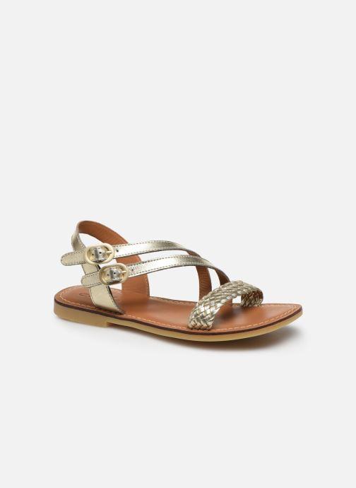 Sandales et nu-pieds Adolie Lazar Megh Argent vue détail/paire