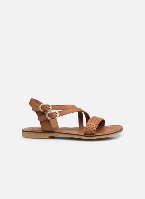 Sandali e scarpe aperte Adolie Lazar Megh Marrone immagine posteriore
