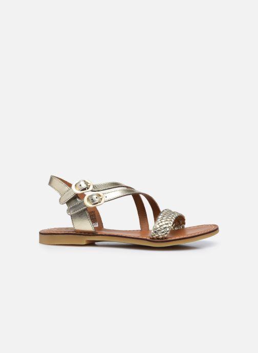 Sandales et nu-pieds Adolie Lazar Megh Or et bronze vue derrière