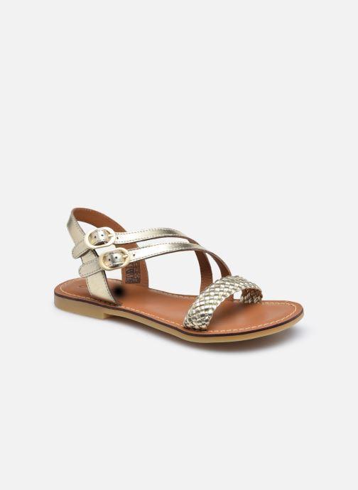 Sandales et nu-pieds Adolie Lazar Megh Or et bronze vue détail/paire