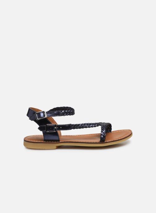 Sandales et nu-pieds Adolie Lazar Bi Stripes Bleu vue derrière