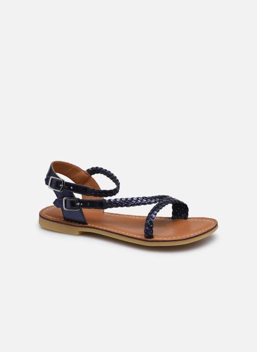Sandales et nu-pieds Adolie Lazar Bi Stripes Bleu vue détail/paire