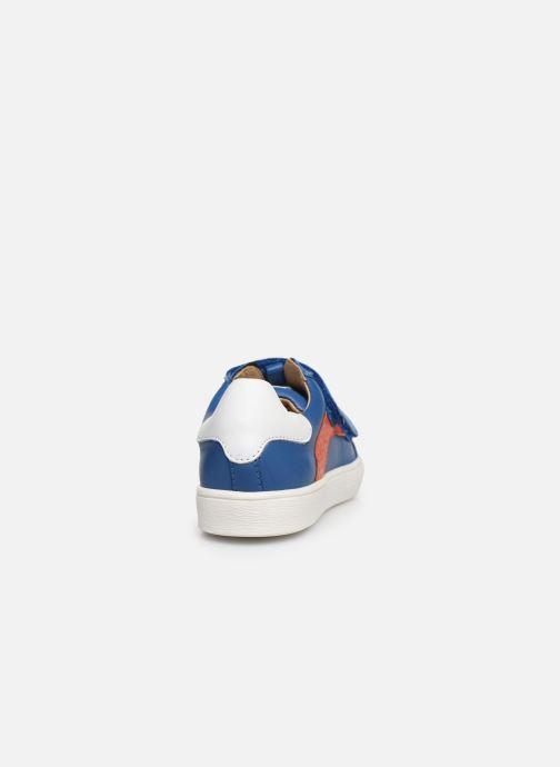 Sneakers Acebo's Basket 5324 Azzurro immagine destra