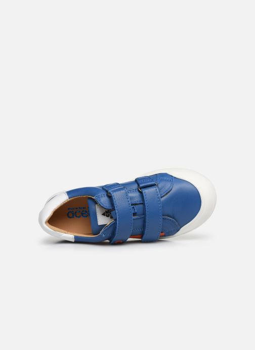 Sneakers Acebo's Basket 5324 Azzurro immagine sinistra