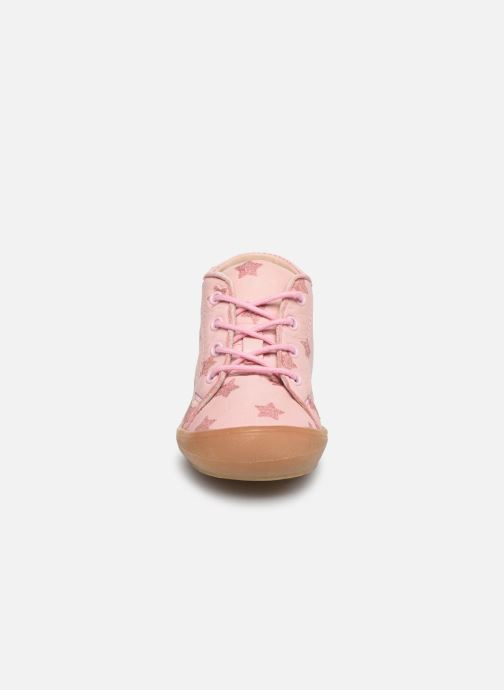 Bottines et boots Acebo's Bottillons 1148PE Rose vue portées chaussures