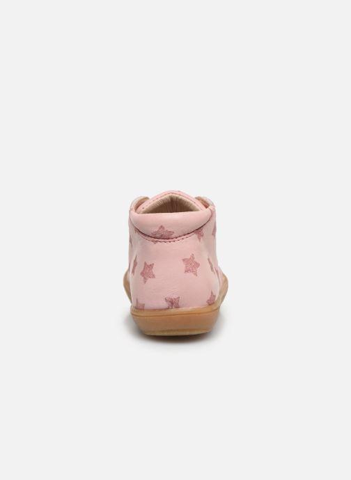 Bottines et boots Acebo's Bottillons 1148PE Rose vue droite
